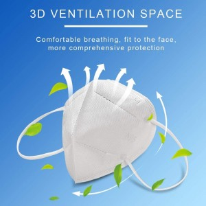 In stock N95 KN95 Flu Virus Proof Disposable Respirator Face Mask