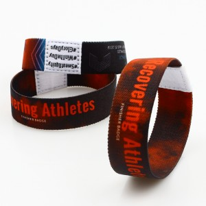 [Copy] Custom logo fashion personalized bracelet elastic wristband for event