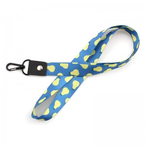 Professional China Printed Polyester Customized Lanyard High quality heavy duty printed nylon lanyard with customized logo