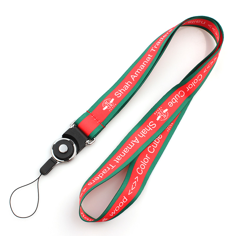 Professional China Printed Polyester Customized Lanyard Fashionable Universal Neck Strap Lanyard for Mobile Phones Featured Image