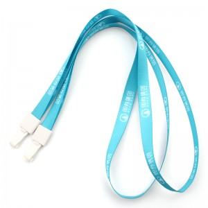 Professional China Printed Polyester Customized Lanyard  Custom fashion premium quality nylon cheap lanyard