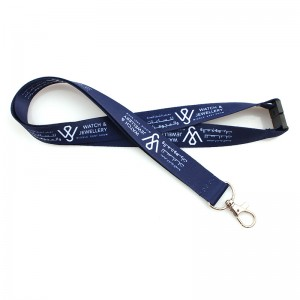 Wholesale Printing Custom Logo Neck Lanyard With Safety Buckle
