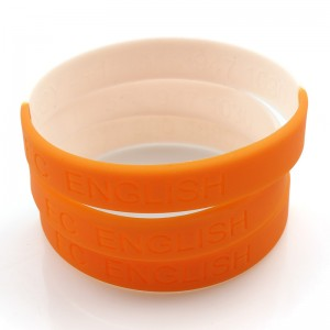 Funny products cheap custom wholesale silicone wristband