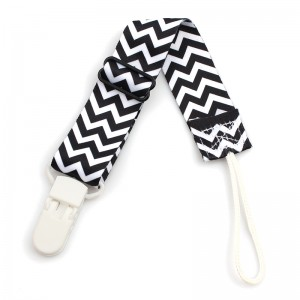 Wholesale new style unisex adjustable baby pacifier clip