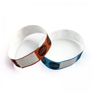Cheap Custom Paper Tyvek Wristbands Id Bracelet For Events