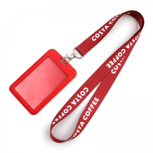 Nice Beauty Printed Neck Lanyard For ID Card With Custom logo