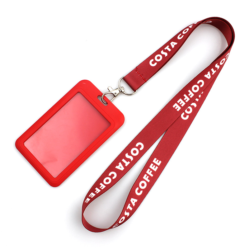 2017 Latest Design Polyester Print Lanyards - Nice Beauty Printed Neck Lanyard For ID Card With Custom logo – February Webbing