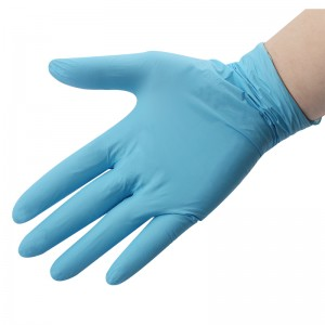 Disposable Blue Medical Nitrile Gloves