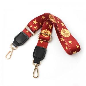 Wholesale design pattern bag shoulder strap with custom logo