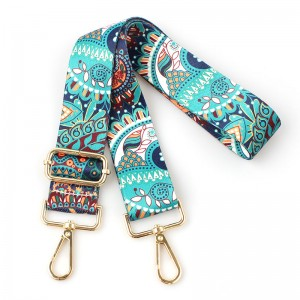 High quality polyester adjustable bag shoulder strap customized
