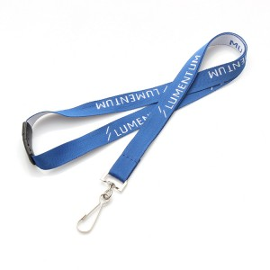 2019 high quality promotion cheap custom polyester lanyard