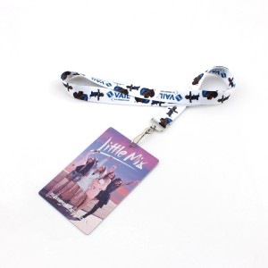 OEM cute lanyard and id card holder necklace