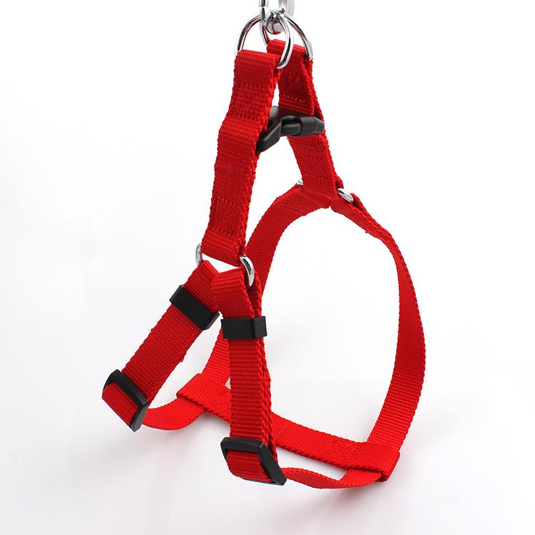 Discount Price Double Clip Lanyard - Wholesale Adjustable Easy Walk Dog Harness, No Pull Nylon Dog Leash Harness – February Webbing