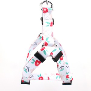 Personalized sublimation print dog harness custom factory