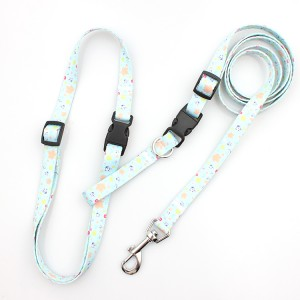Breakaway buckle pet convenient dog leash with your logo