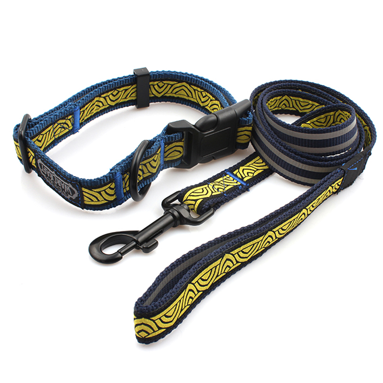Top Quality Badge Holder Lanyard - Best quality cheap stylish pet product dog collar and leash sets – February Webbing