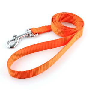 Premium polyester webbing dog cat pet leashes stocked for training