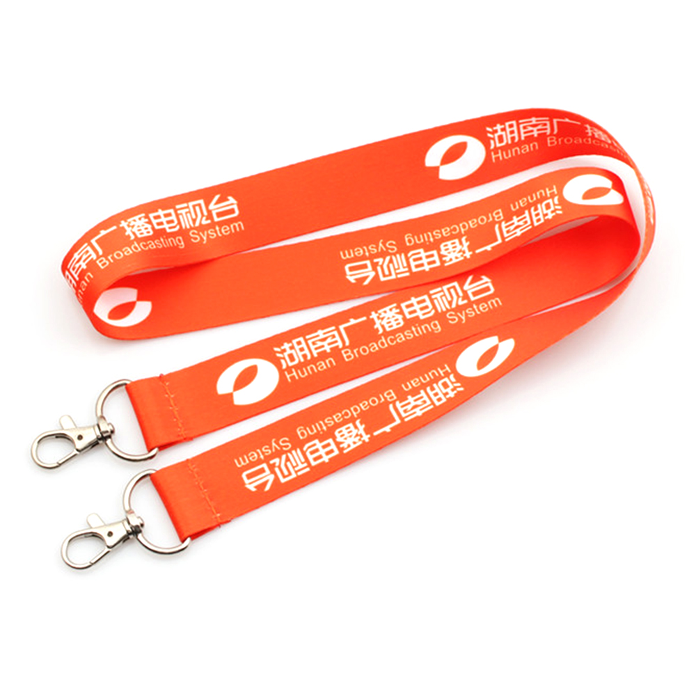 Rapid Delivery for Printed Wristband - Hot Promotional custom design's lanyard with 2 hooks children – February Webbing