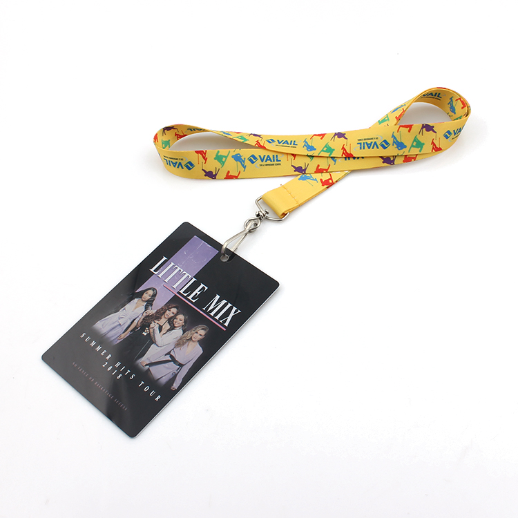 Factory Cheap Hot Rpet Pet Harness - High end eco friendly recycle lanyard card holder necklace – February Webbing