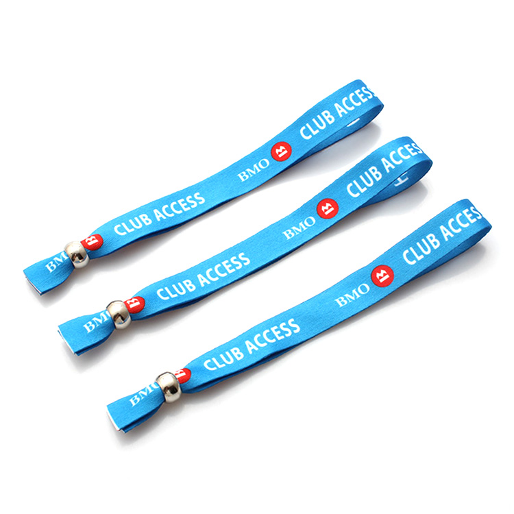 Good User Reputation for Event Woven Wristband -