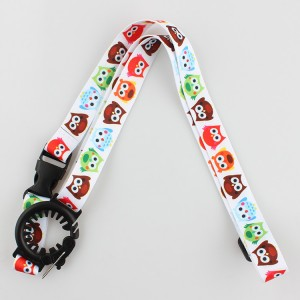 Best selling cheap custom printed water bottle holder neck strap