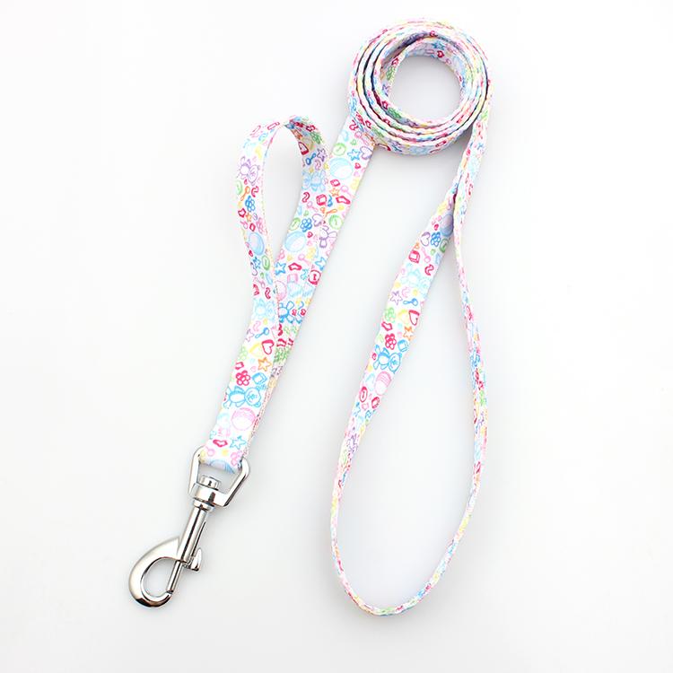 High reputation Round Lanyard - Wholesale cheap OEM double handle dog leash customized – February Webbing