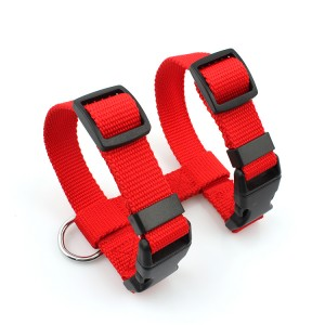 Durable premium polyester safe walking reflective small animal cat harness