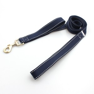 Reflective double Dog Leashes For Safe Night Walks