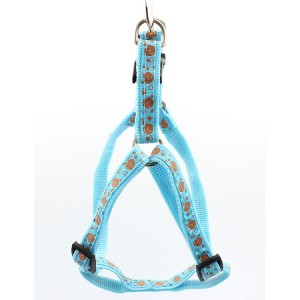 Wholesale sublimation soft comfortable custom print pet dog harness