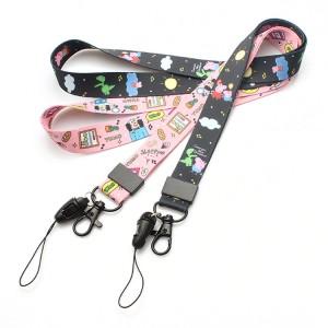 China New Product Dog Collar Custom - Sublimation cheap custom design your own lanyard bulk – February Webbing