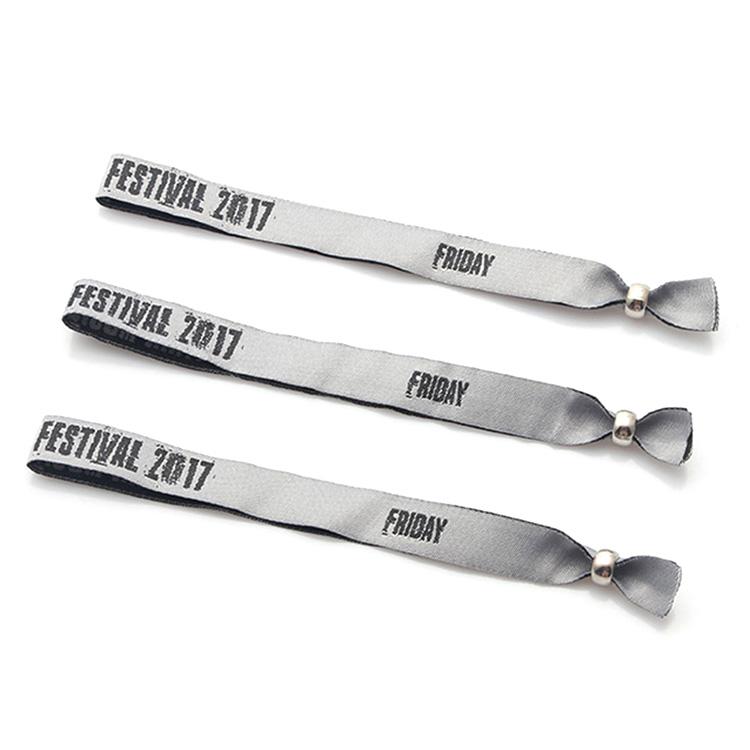 Factory best selling Vape Holders Lanyard - DIY custom wristband woven UK festival event free bracelets – February Webbing