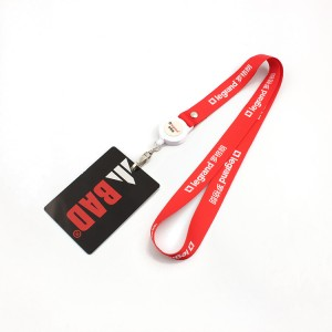Design Your Own Logo Retractable Tool Lanyard for ID Card No Minimum Order