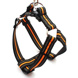 2019 China Wholesale Eco-friendly  Pet Product  Dog Harness reflective nylon