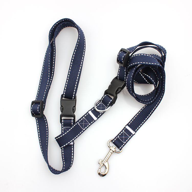Cheap PriceList for Pet Collar - Customized strong reflective personalized durable dog running leash – February Webbing