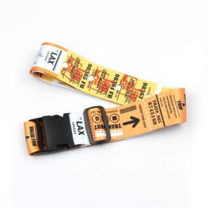 Heavy Duty Cross Luggage Straps Travel Accessory Suitcase Belts