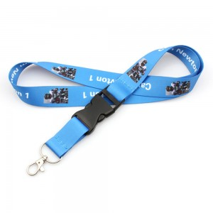 High quality custom nfl lanyard with detachable strap