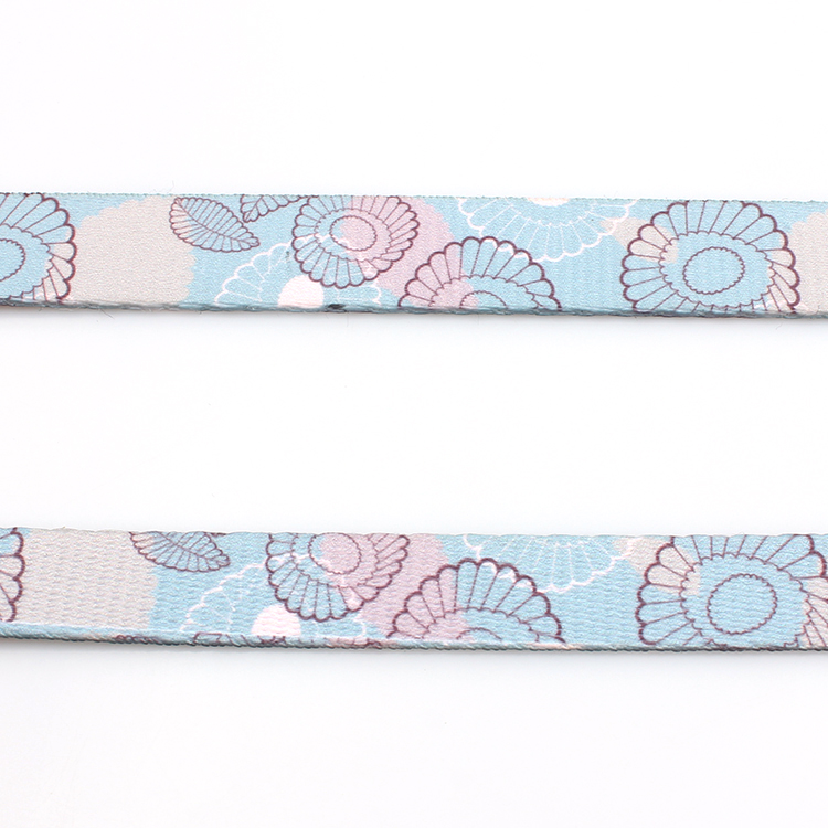 Good Quality Dye Sublimation Lanyard - New design Custom Pattern Polyester Dog Leash With Sublimation – February Webbing