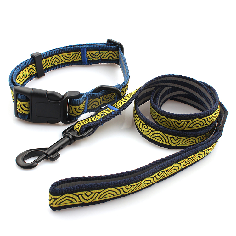 Chinese Professional Rpet Pet Leash - Best quality cheap stylish pet product dog collar and leash sets – February Webbing