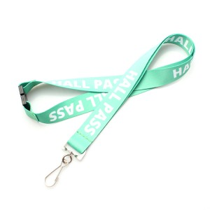 Custom logo polyester neck string for activity