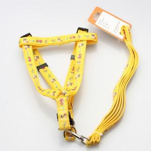 Wholesale adjustable comfort durable nylon training dog  harness leash