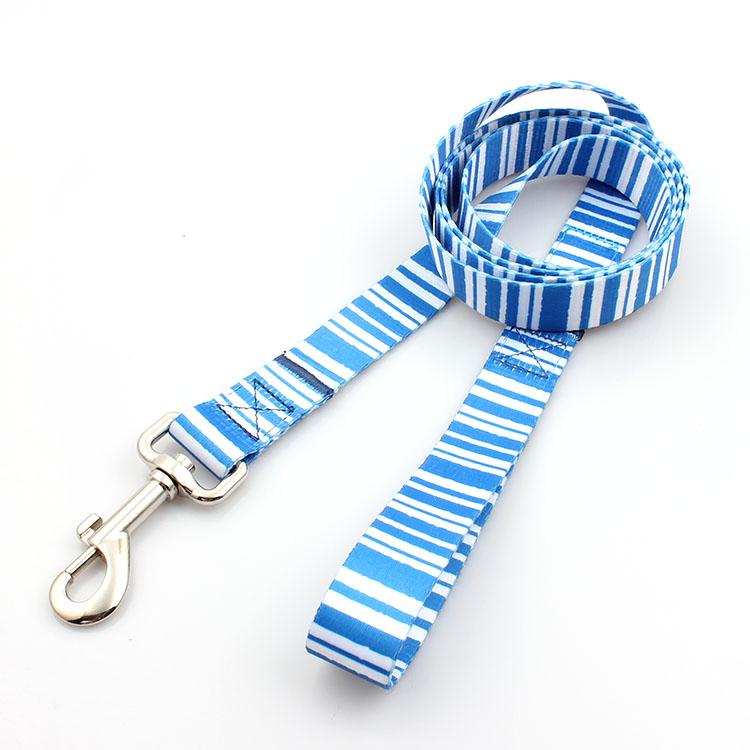 2017 High quality Custom Dog Collar Leash - Custom webbing accessories dog leash with durable high metal hook – February Webbing