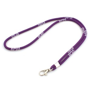 Wholesale Bulk Heavy Duty Round Polyester Neck Lanyard for Key