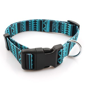 Factory directly manufacturer custom polyester sublimation dog collar