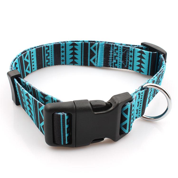 2017 High quality Sublimation Lanyard - Factory directly manufacturer custom polyester sublimation dog collar – February Webbing