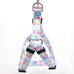 Wholesale adjustable sample free dog harness with custom style