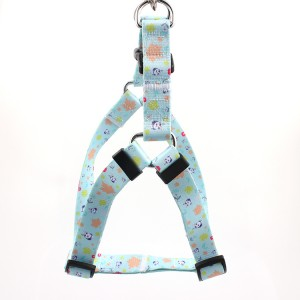 Polyester Pets Soft Safe Adjustable Cute Puppy Dog Harness