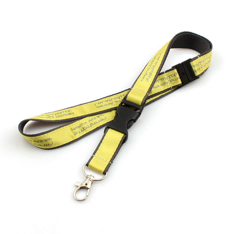 Fast delivery Pacifier Clip - Fast delivery top supplier woven keycord lanyard with key ring – February Webbing