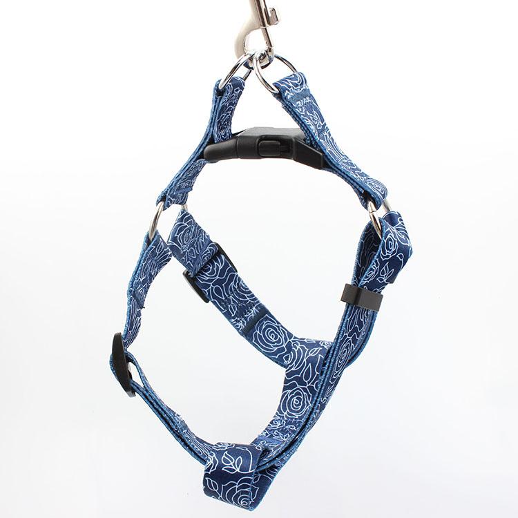Manufacturer for Polyester Lanyard - Professional manufacturer designer printed pet harness adjustable – February Webbing
