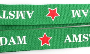 Wholesale custom water bottle holder neck lanyard strap