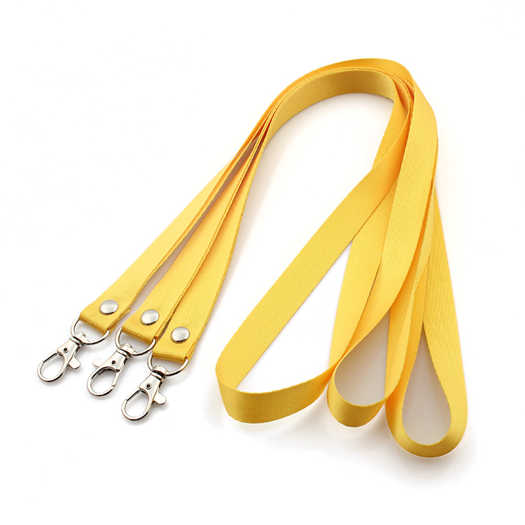 Wholesale high quality nylon imprint blank lanyard Featured Image